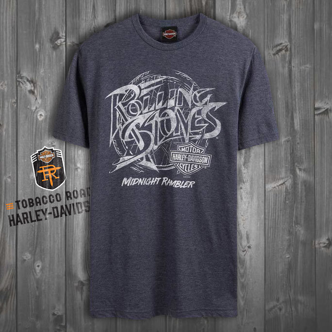 Harley-Davidson® Men's Rolling Stones Midnight Rambler Short Sleeve T-Shirt