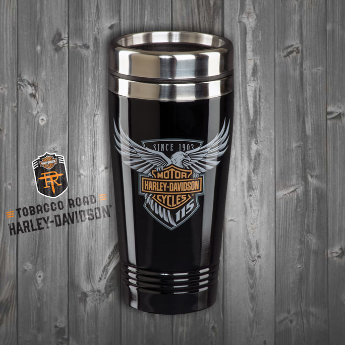 Harley-Davidson® 115th Anniversary Double Walled Travel Mug