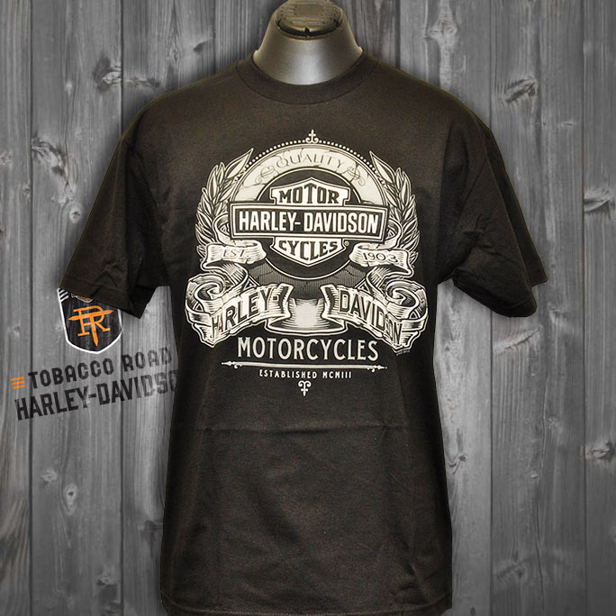 3029864405 - Harley-Davidson® Mens Hand Crafted Short Sleeve T-Shirt