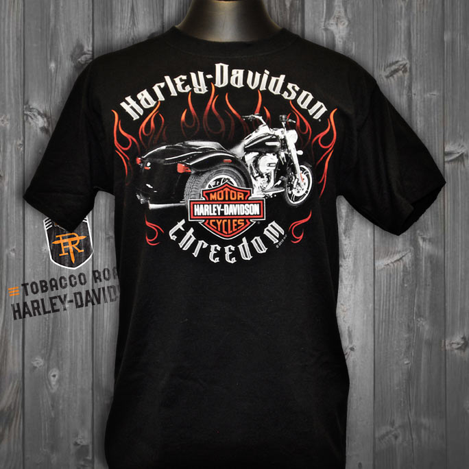 Harley-Davidson Trike Threedom T-Shirt | Shop Tobacco Road
